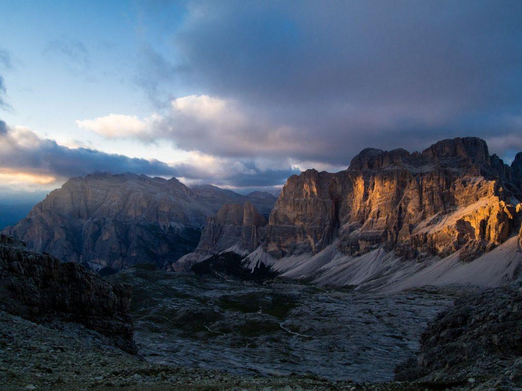 Alta Via 1 Trek in the Dolomites